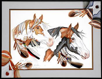 Paint Horse Art
